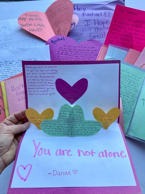 Friend Mail Pop-Up Letter
