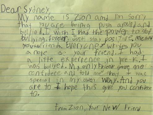 Friend Mail Letter