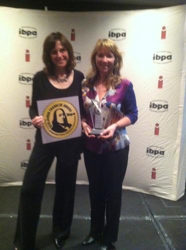 Winning Ben Franklin Gold for Matzah & Miracles!