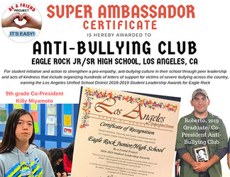 Eagle Rock Anti-Bullying Club