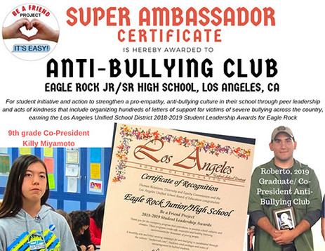 Eagle Rock Anti-Bullying Club