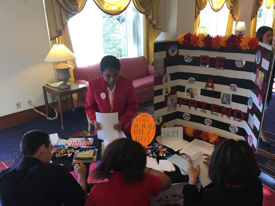 Lake Worth, TX, FCCLA Letter Booth