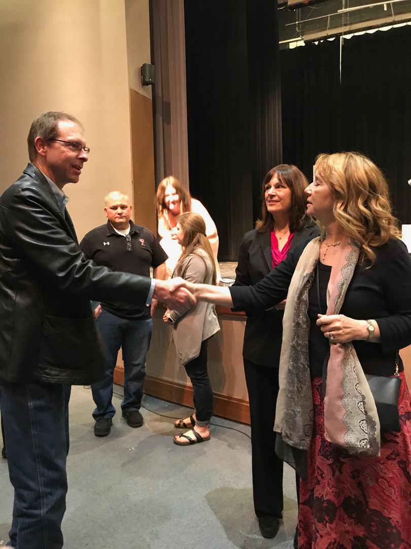 Playwrights meet Canyon ISD, TX, Superintendant