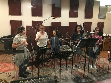 Recording the Vocal Tracks with January