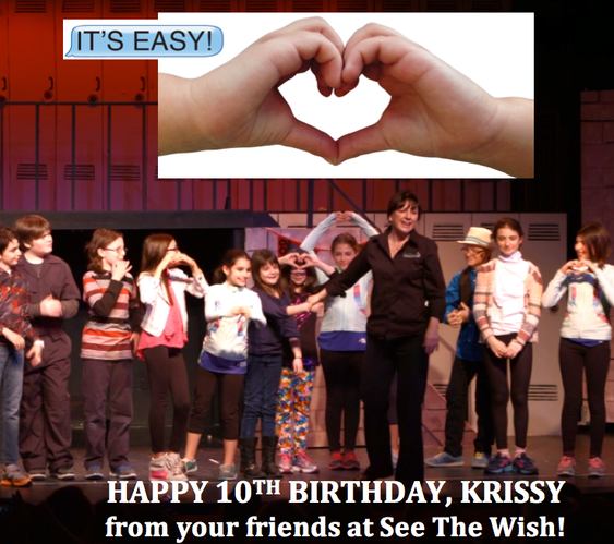 """Cast (& Krissy) Curtain Call: 2015 """"IT'S EASY!"""" Production"""