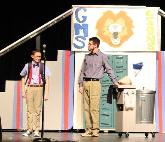 """""""Mr. A & Jed"""" Canyon ISD, TX"""