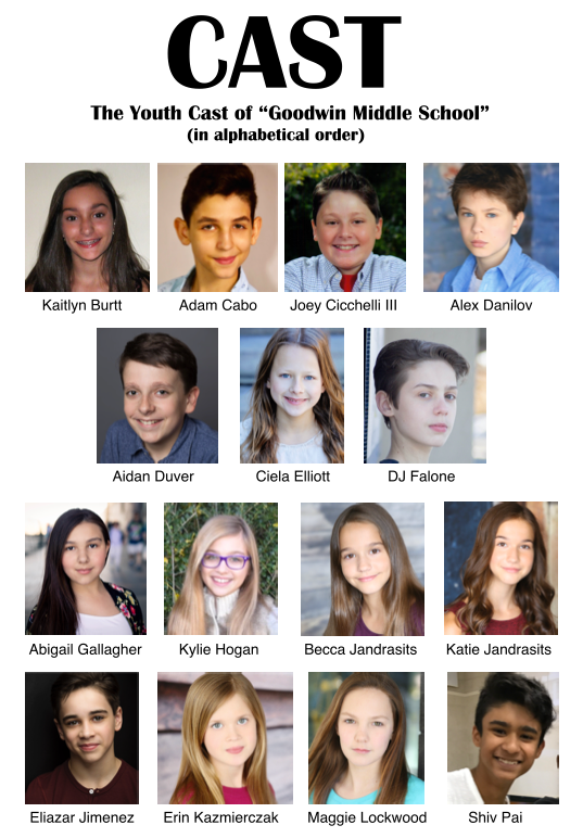 """Youth Cast: 2017 Professional Run Of """"It's Easy!"""""""
