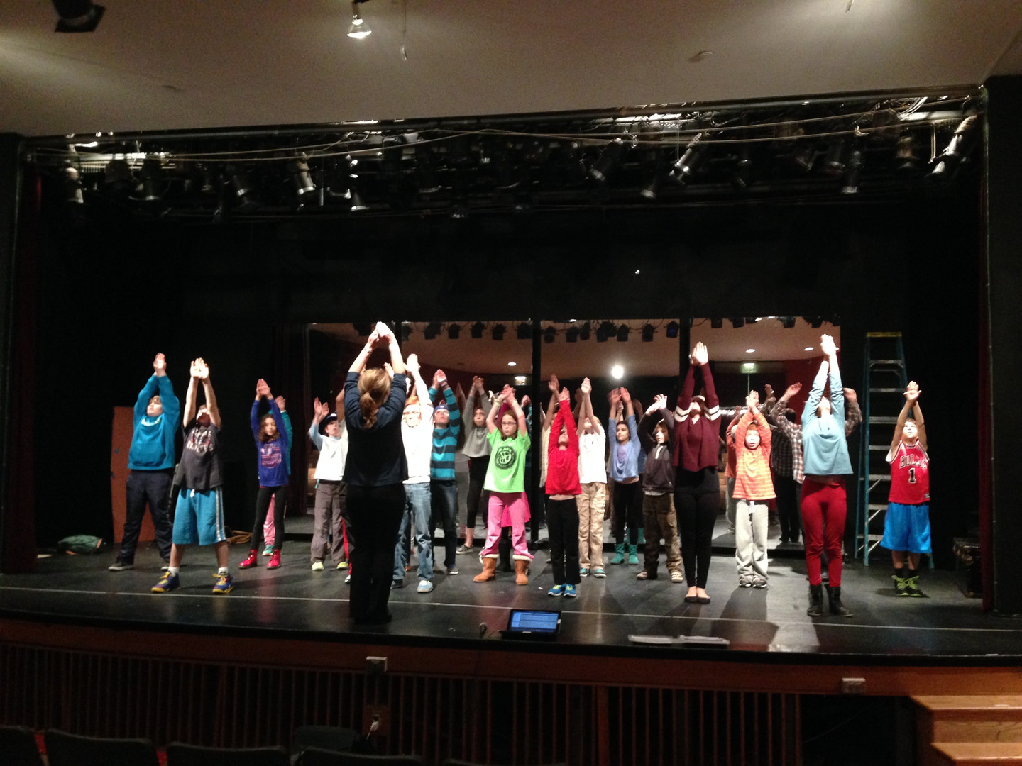 """Cast Rehearsing: 2015 """"IT'S EASY!"""" Production"""