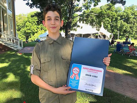 Adam Cabo becomes Super Ambassador in 2018!