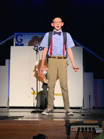 """""""Ricky"""" in Canyon ISD, TX, Show!"""