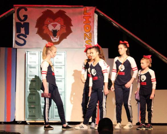 "Cheerleader ""Bully Girls"" in Amarillo, TX"