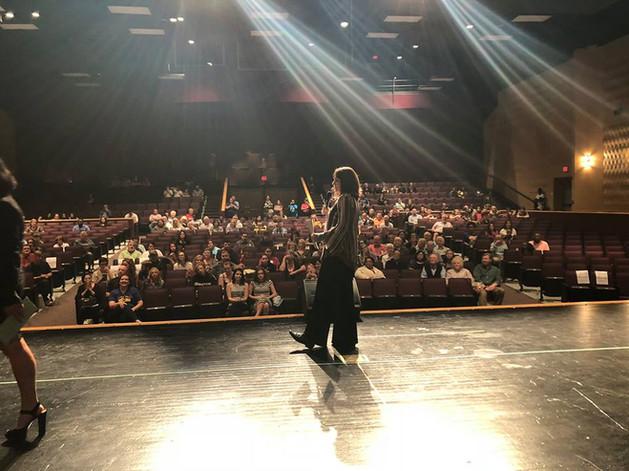 Jennifer invited on stage in VA to talk BAFP!