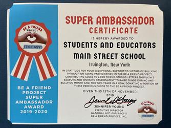 Main Street School Students/Educators