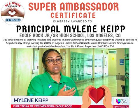 Principal Mylene Keipp