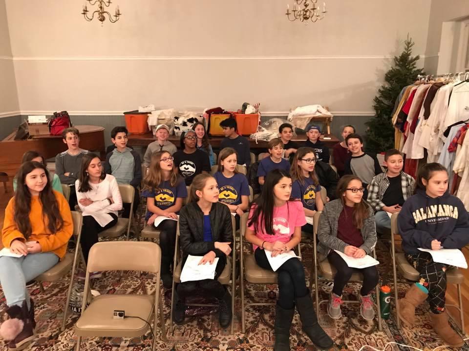 December 2017 staged reading of revised script