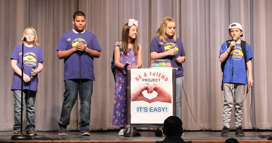 """Canyon ISD """"It's Easy!"""" Assembly Scene"""
