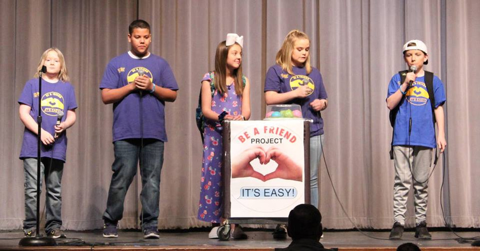 "Canyon ISD ""It's Easy!"" Assembly Scene"