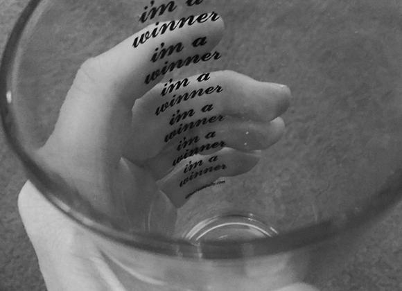 I'm A Winner Pint Glass