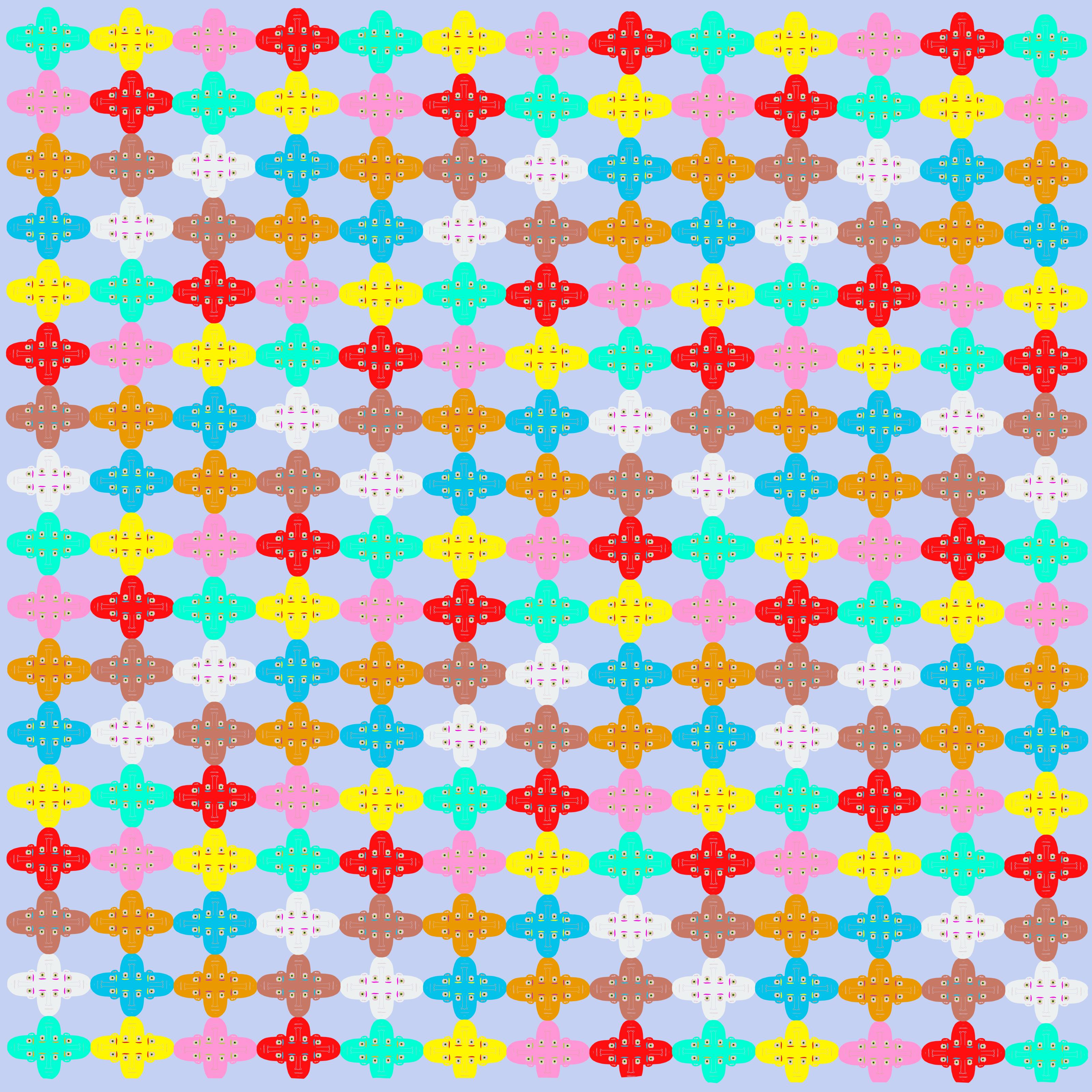 Faces Fabric
