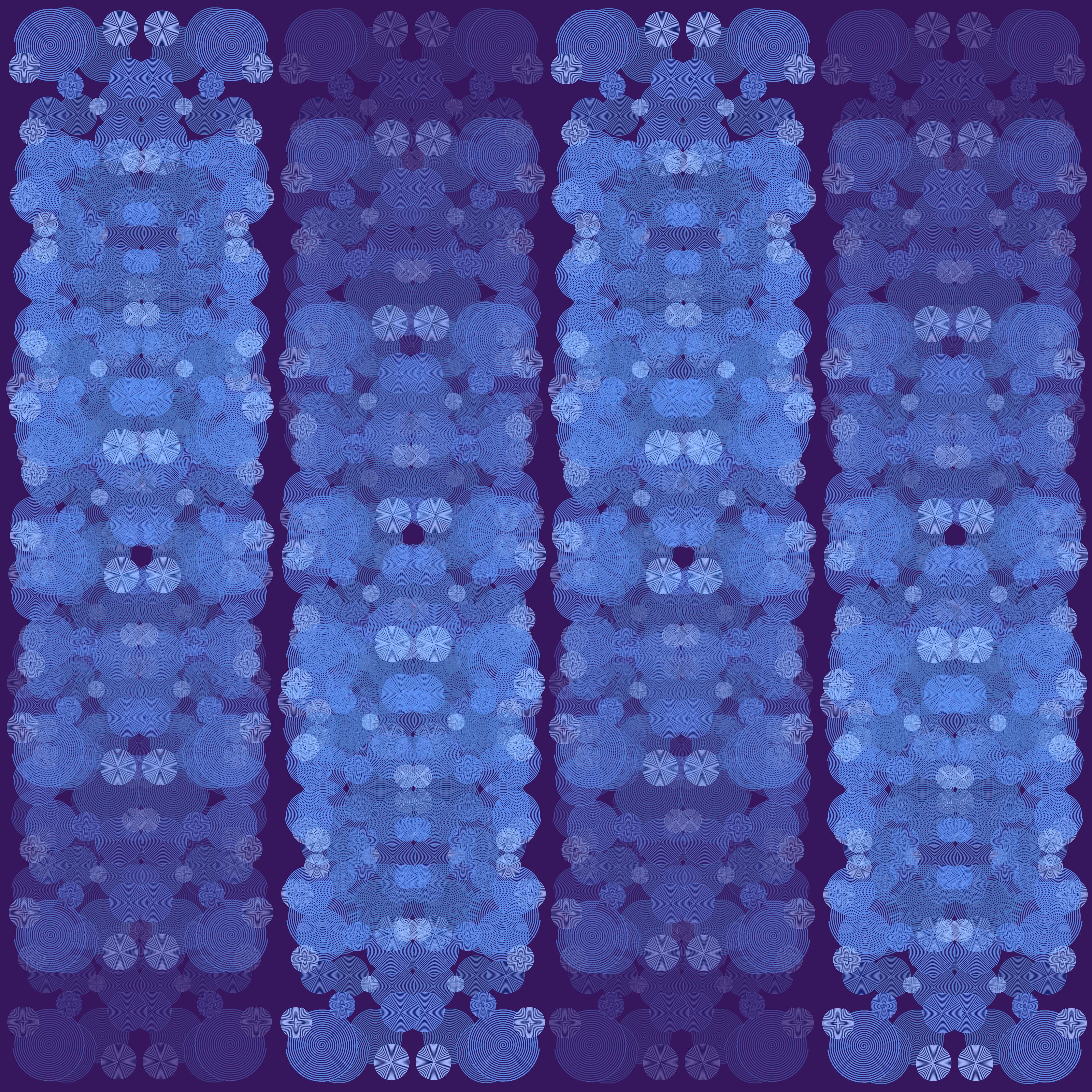 Blue Fade Fabric