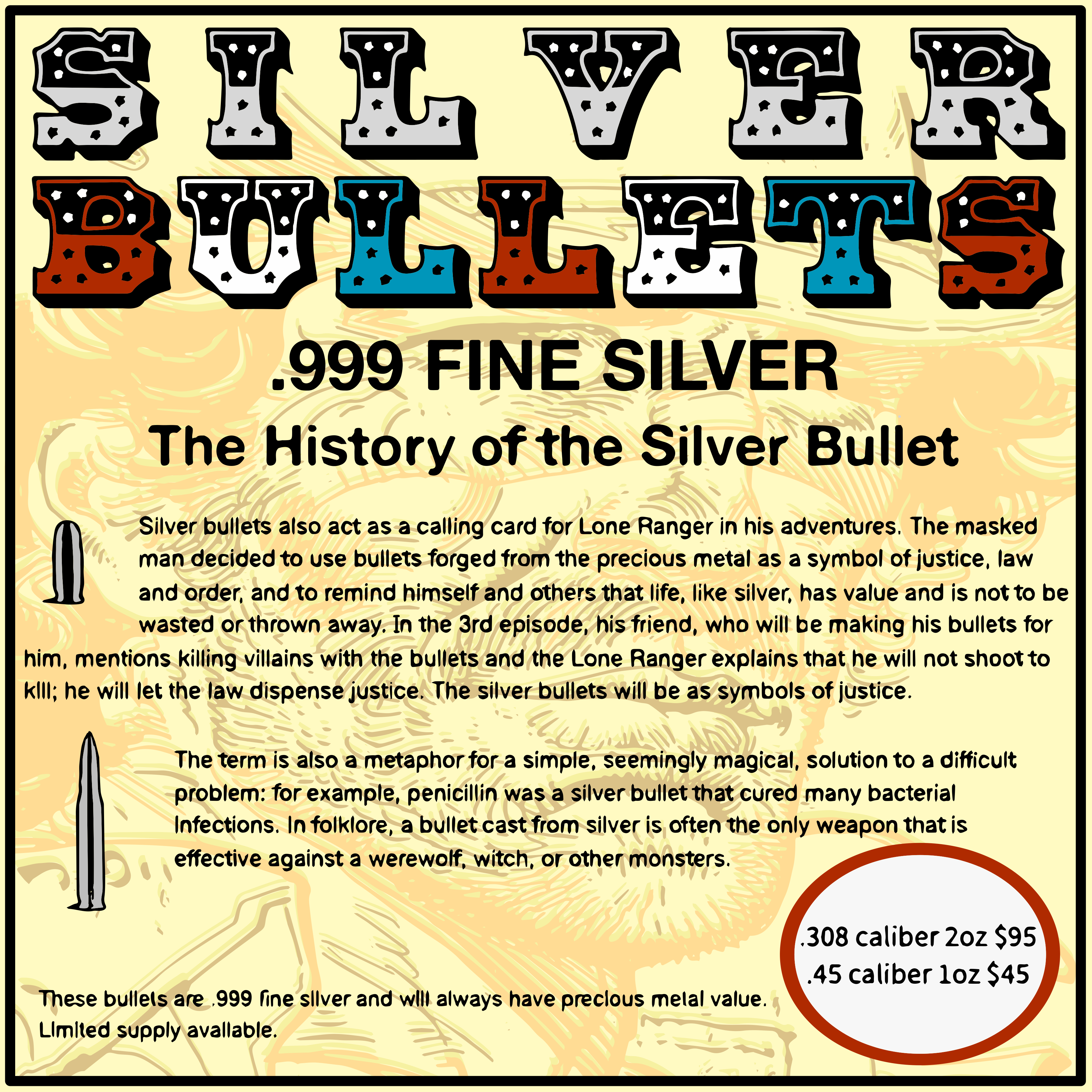Advert For Silver Bullets