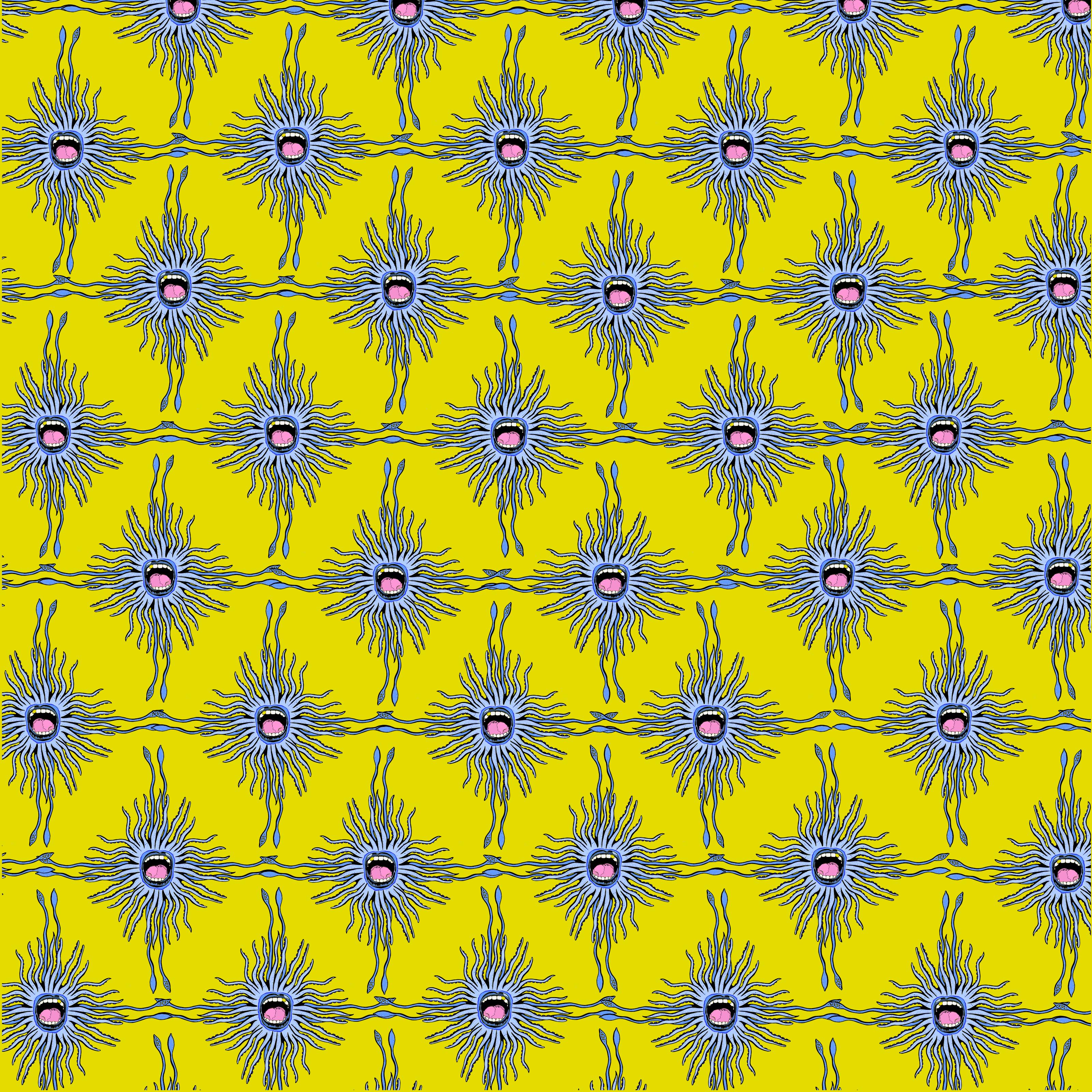 Squid Love Fabric