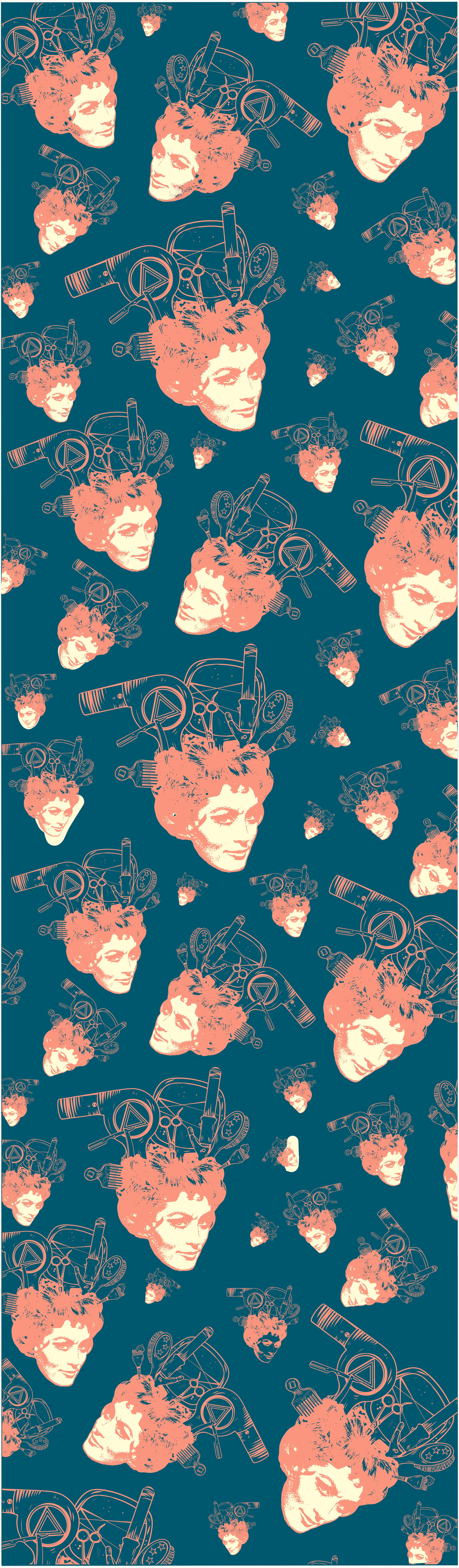 Salon Wallpaper