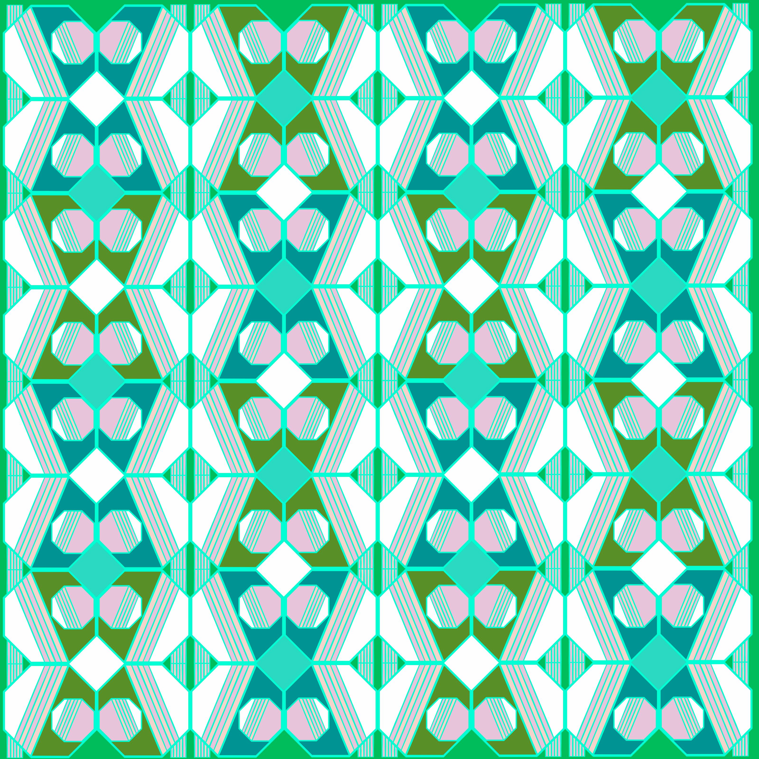 Mint Choc Chip Fabric