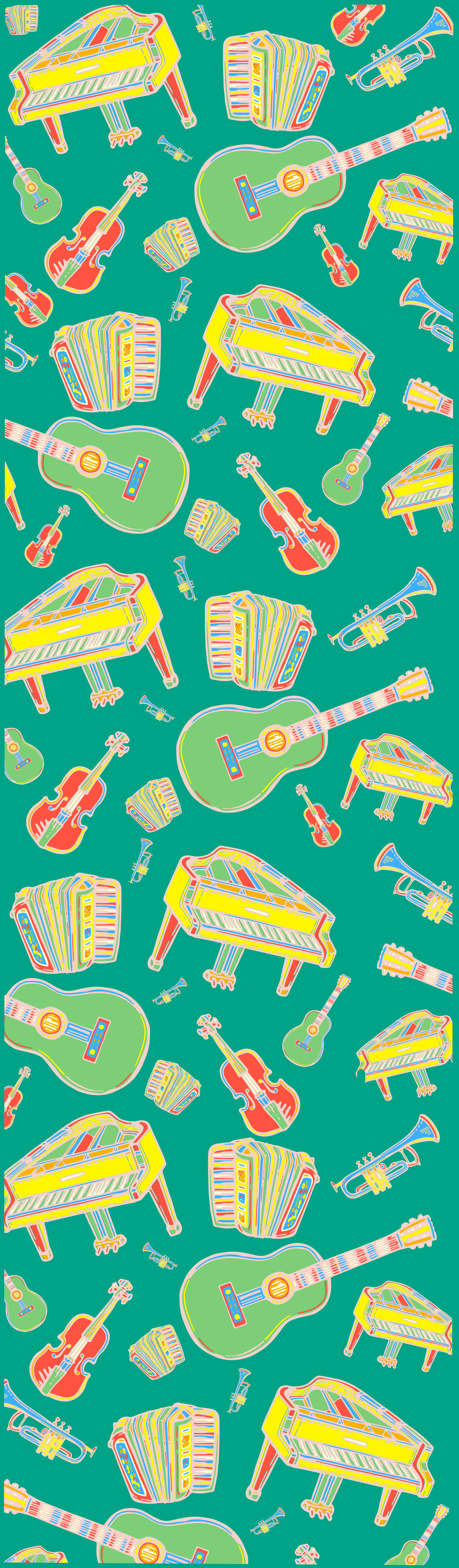 Music Room Wallpaper