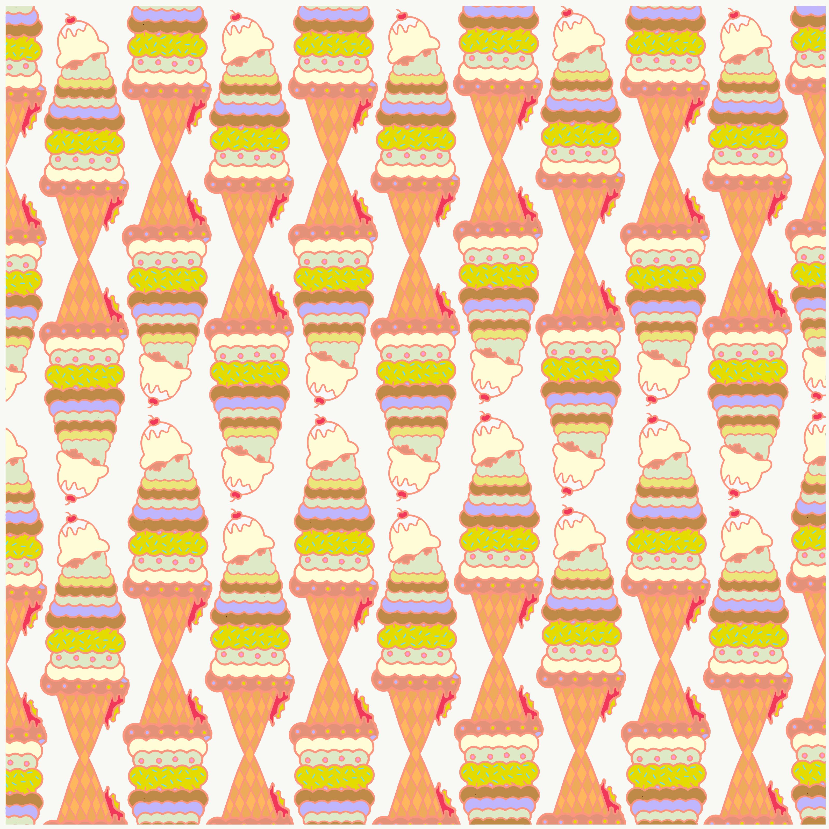 Mr Whippy Fabric