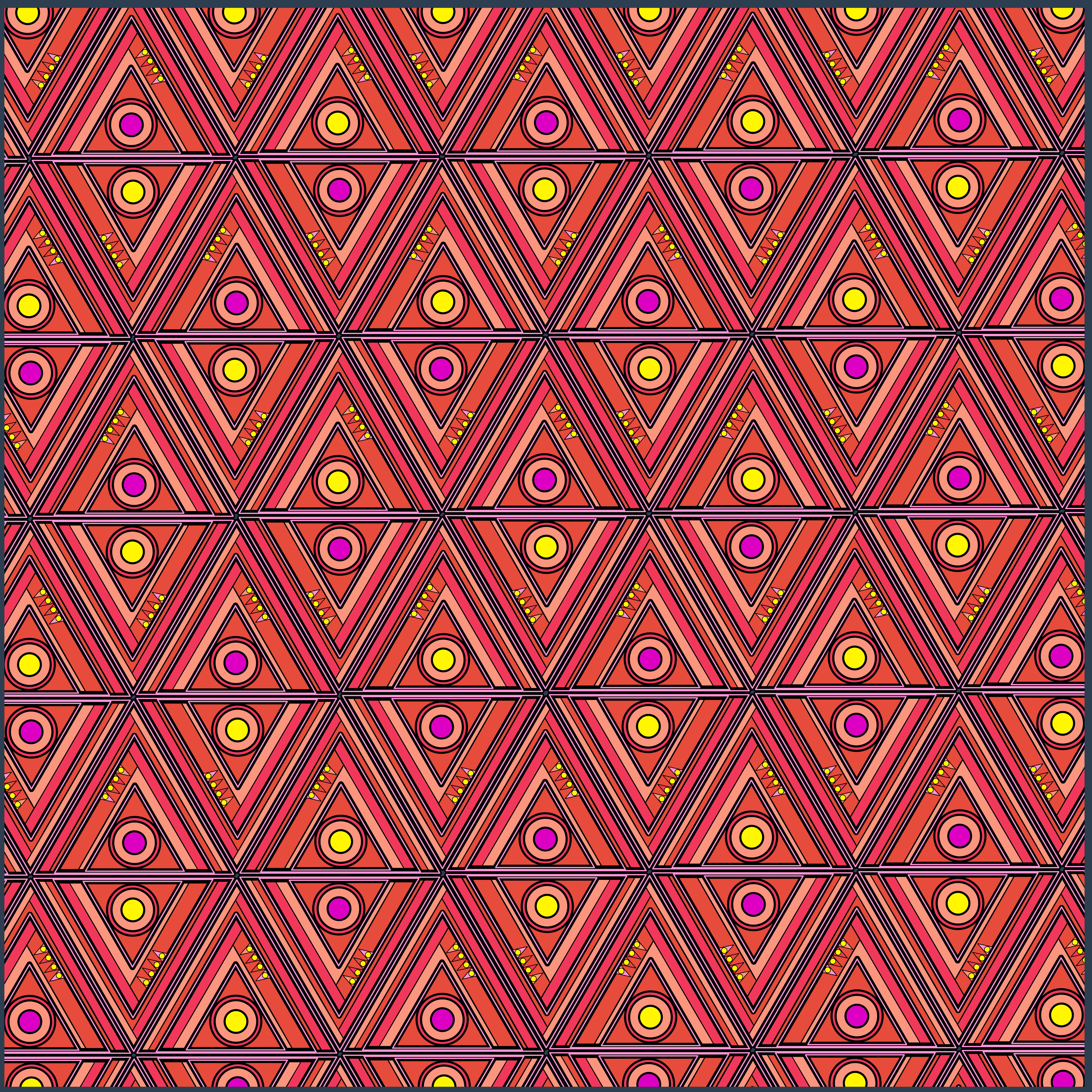 Mountains Fabric