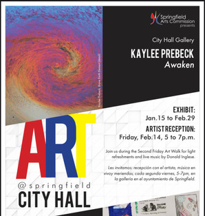 Awaken Exhibition, Jan. 15-Feb 29, 2020