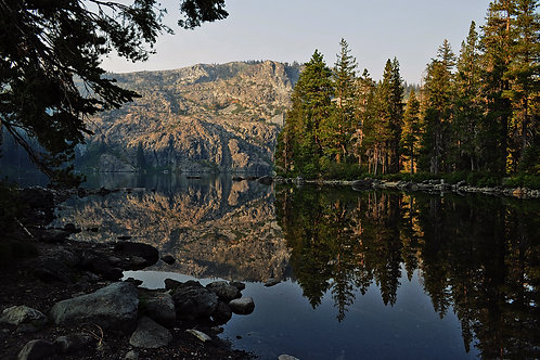 Castle Lake, Mount Shasta, California