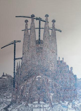Basilica De La Sagrada Familia - Barcelona