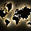Thumbnail: Карта мира, светящаяся в темноте