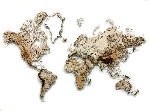 Карта Гор (многоуровневая)