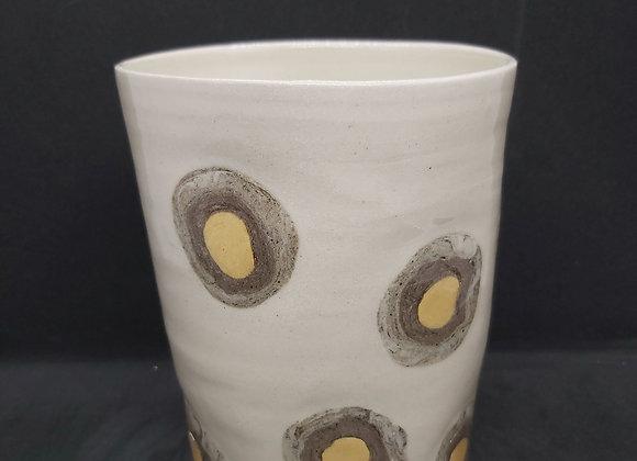 Thrown Nerikomi Vase