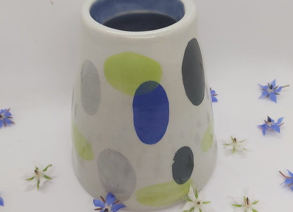 Thrown Retro Vase