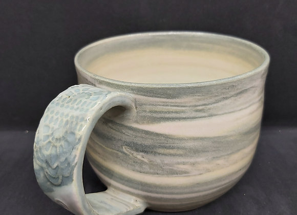 Wheel  Thrown  Marbled Mugs