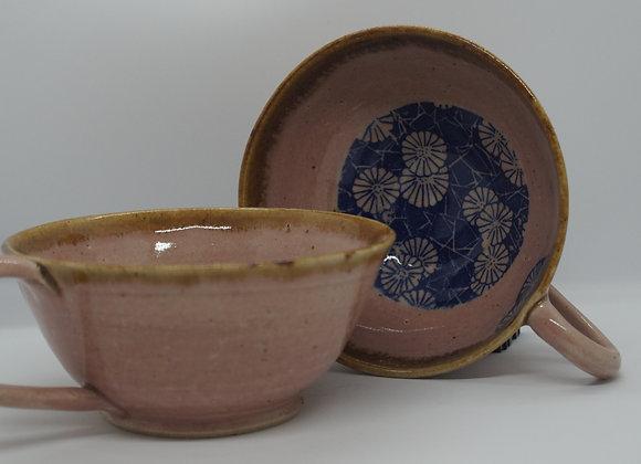 Hand Thrown Tea Bowls (Pair)