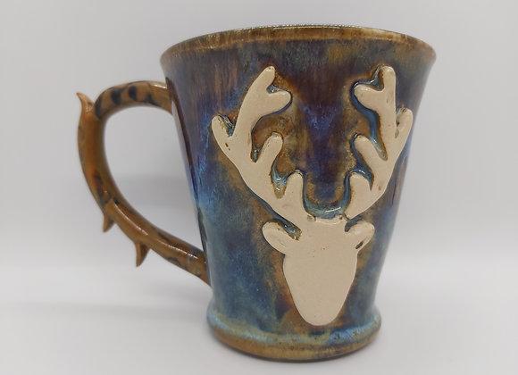 Thrown Stag Mug