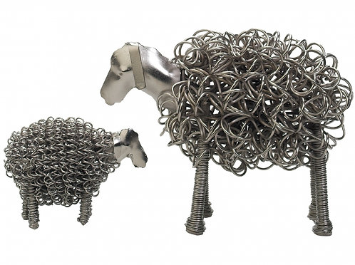 The Silver Sheep: Large/Small