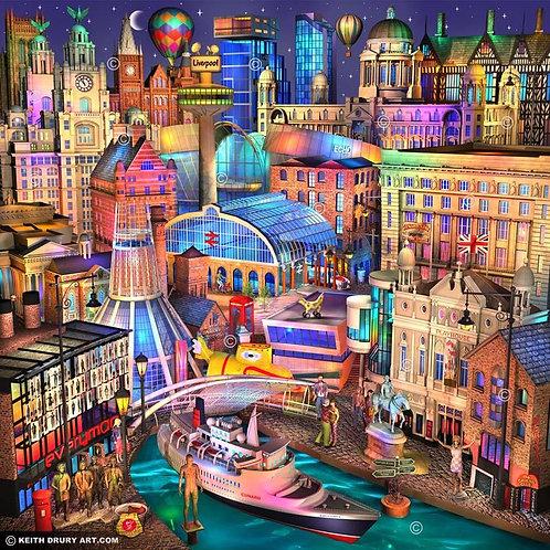 'Liverpool Nightfall'