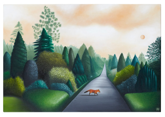 Morning Mr. Fox  (SOLD)