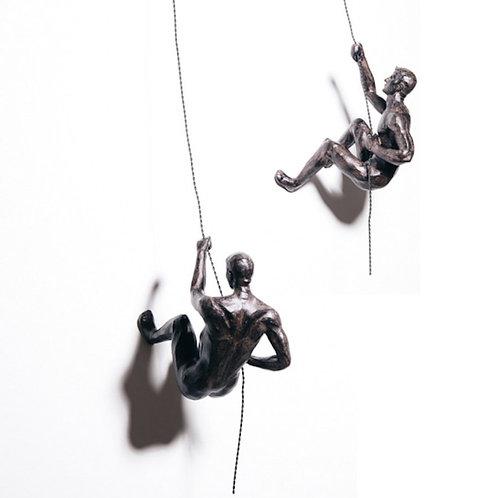 Bronze Climbers