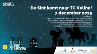 Sinterklaas komt naar TC Velina