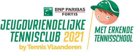 Logo Jeugdvriendelijke Tennisclub 2021 m