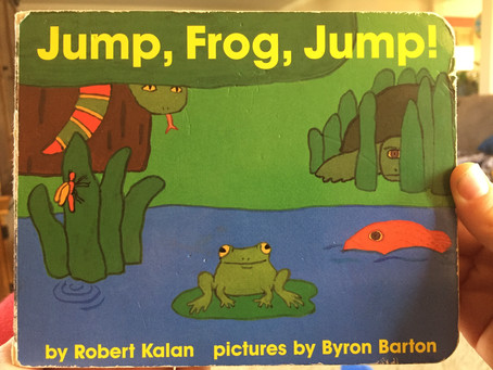About A Book: Jump, Frog, Jump!