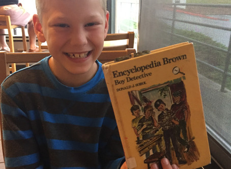 About a Book: Encyclopedia Brown, Boy Detective