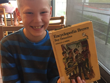 About a Book: Encyclopedia Brown, Boy Detective